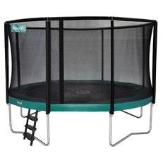 Ronde trampolines met net