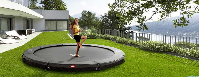 Inground-of-flatlevel-trampolines
