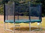 Los veiligheidsnet FUN - 305cm voor trampoline met 3 poten_