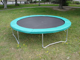Airjump trampoline rand 427 cm groen_
