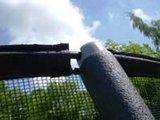 Universeel foam voor palen trampoline veiligheidsnet _