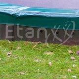 Losse plaat trampoline inbouwsysteem universeel_