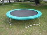 Airjump trampoline rand 366 cm groen_