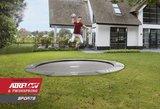 Berg Flatground Champion trampoline rand 380 cm grijs_