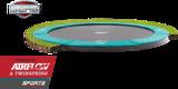 Berg Flatground Champion trampoline rand 430 cm groen_