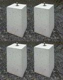 Beton blokken set = 4 stuks