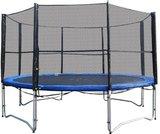 Superfun trampoline 366 cm met net - blauw_