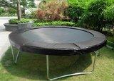 AirJump trampoline 244cm met safetynet - zwart_