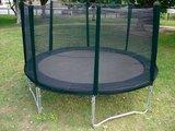 Airjumpe trampoline zwart