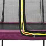 Silhouette trampoline