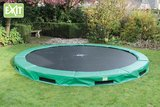 Exit Interra Inground trampoline 366cm groen_