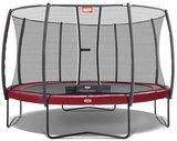 Berg Elite trampoline rand 330 cm - donkerrood_