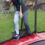 Berg Elite trampoline rand 430 cm - donkerrood_