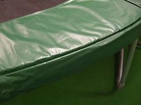 Superfun trampoline rand 430 cm groen