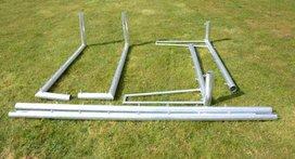 Avyna aluminium voetbaldoel 250x100 cm