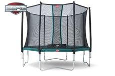 Berg Favorit 270cm groen met safetynet Comfort