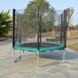 Superfun trampoline 244 cm met net - groen