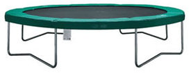 AirJump trampoline 427cm groen