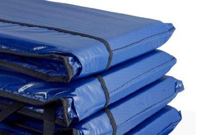 Superfun trampoline rand 244 cm blauw