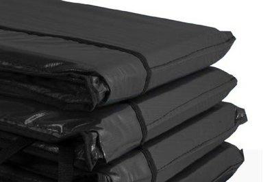 Airjump trampoline rand 244 cm zwart