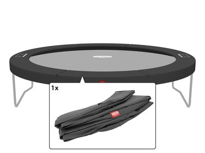 Berg Champion trampoline rand 380 cm grijs