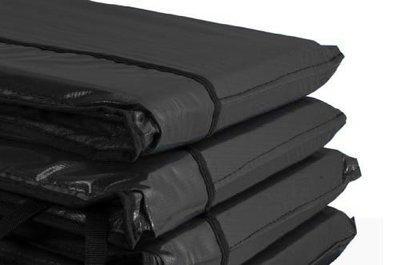 Airjump trampoline rand 460 cm zwart