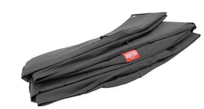 Berg Flatground Champion trampoline rand 380 cm grijs