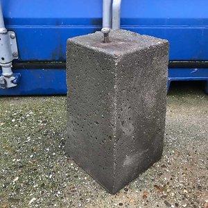 Betonpoer gebruikt