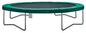 AirJump trampoline 366cm groen
