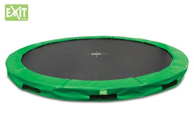 Exit Interra Inground trampoline 366cm groen