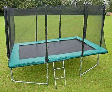 Airjump trampoline rechthoek