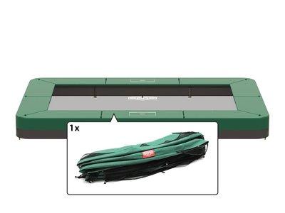 Randkussen Ultim Favorit InGround 280x190cm groen