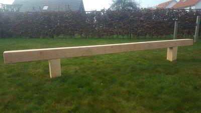 Douglas houten evenwichtsbalk - 2 tot 4 meter lengte