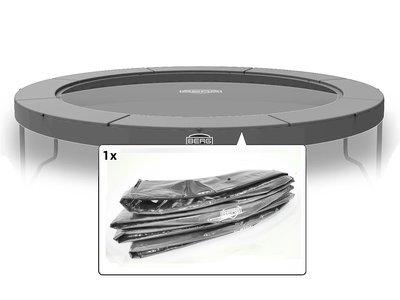 Berg Elite trampoline rand 330 cm - grijs